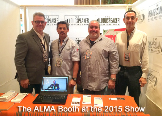 ALMA Booth at the 2015 Show