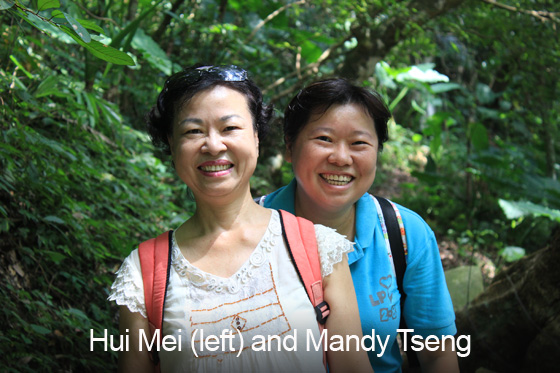 Hui Mei and Mandy Tseng