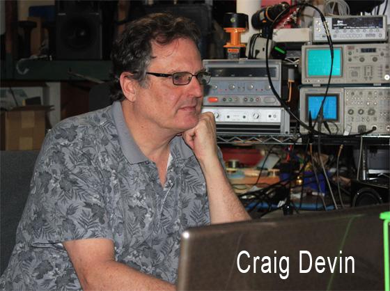 Craig Devin at Work