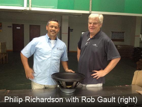 Rob Gault of Eminence with Philip Richardson