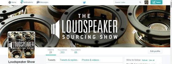 loudspeaker-sourcing-show-twitter