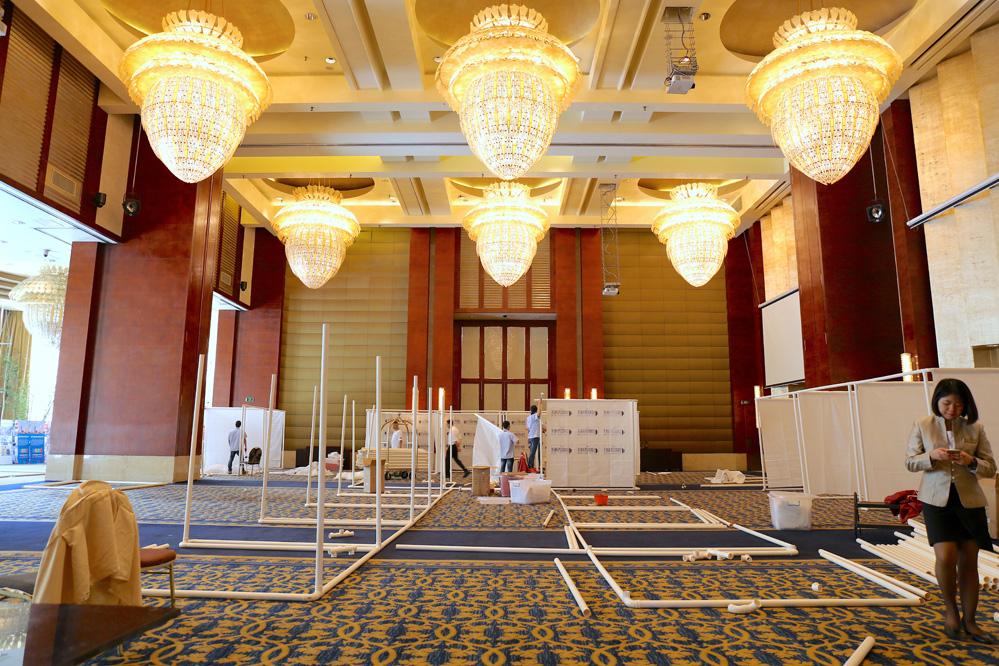Loudspeaker Sourcing Show 2016 booth Set Up
